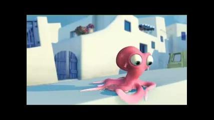 Влюбените Октоподчета - Забавна Анимация