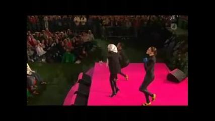 Just Dance Sweet Dreams - Lady Gaga vs Eurythmics mashup - remix (360p)
