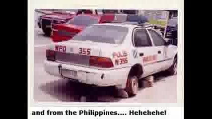 Най - Добрите Полицейски Коли