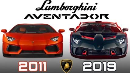 Lamborghini Aventador - Evolution 2011-2019