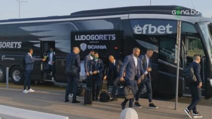 Лудогорец отпътува за Дания без Валдас Дамбраускас