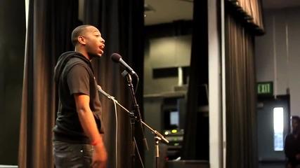 Rudy Francisco - Love poem в Mira Costa College