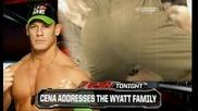 Джон сина ще извика Семейството Уаят (по-късно в шоуто) / Първична сила 03.3.14 г.