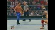 W W F Smackdown 04.05.2001 Крис Беноа с/у Уйлям Ригал c/y Кърт Енгъл