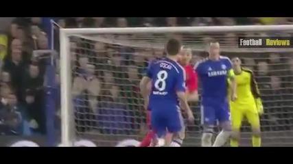 За това нарушение Ибрахимович беше изгонен в мача с Челси
