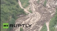 Kazakhstan: Huge mudslide covers Almaty after glacier melt