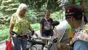 Russia: Meet Semyon Semyonych - the cat with a cycle club membership card