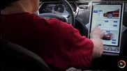 Tesla Model S - Touch Screen Interface
