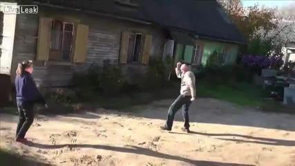 Селската Mortal Kombat (пияници си пускат магии)