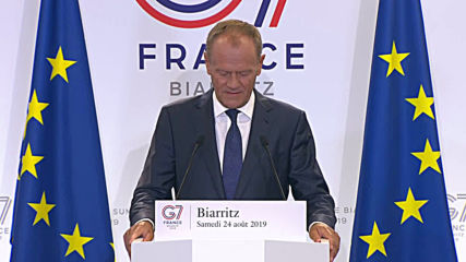 France: Tusk cannot agree with Trump's 'logic' on Russia G7 re-invite