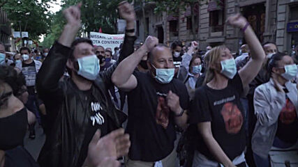 Spain: Hundreds of Nissan workers protest plant closures in Barcelona