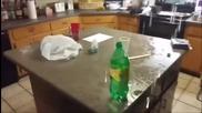 Ето как се прави!!! Фокус с изригваща вода