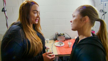 Ronda Rousey and Nia Jax bury the hatchet: Total Divas, Oct. 22, 2019