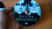 Матрицата: Презареждане (2003) на DVD (2004) от VP: VIDEO PRESS S.A. в Гърция 2005 в малка обложка