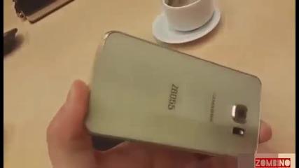 Samsung Galaxy S6 и Galaxy S6 Edge в първо видео