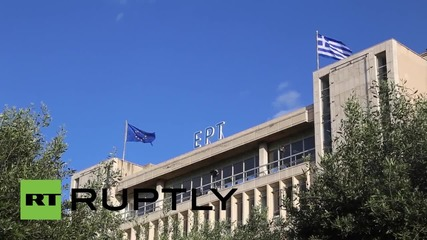 Greece: Varoufakis and Tsipras celebrate re-opening of state media
