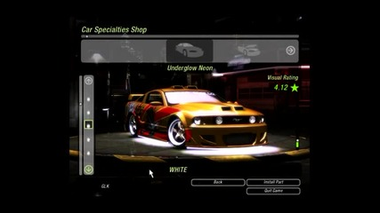 Nfs U2 - Tuning Ford Mustang