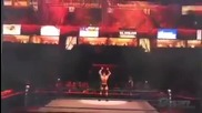 randy orten entrace end john cena entrace