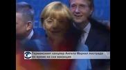 Германският канцлер Ангела Меркел пострада по време на ски ваканция
