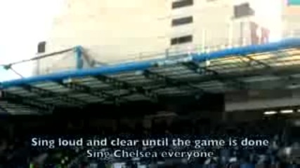 stamford bridge sings chelsea fc s anthem