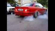 Bmw 318is burnout