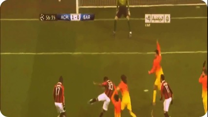 [hd] Ac Milan vs Barcelona 2-0 2013 Goals & Highlights 20_2_2013