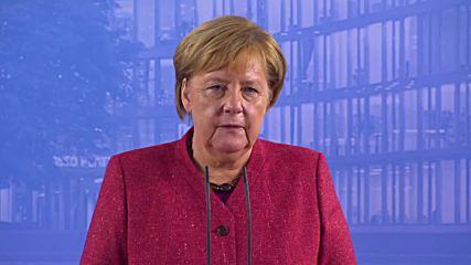 Germany: Merkel 'happy' with draft Brexit deal