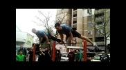 Масова тренировка по уличен фитнес 2013.31.03