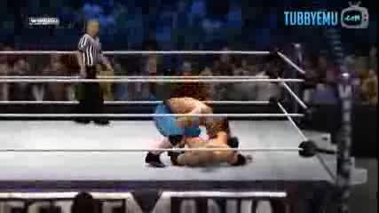Джон Сина срещу Рокът(пълен мач)