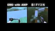 Surfslimerun B!ff3n Vs Emo With Awp