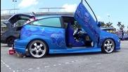 Crazy Xtreme Tuning Lamborghini Door Stile Ford Focus
