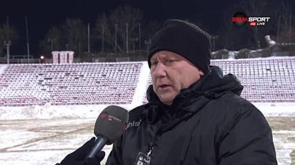 Киров: Условията бяха ненормални за елитен шампионат