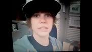 Justin Bieber at Tim Hortons