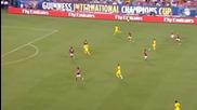 (2014) Ливърпул - Милан (2:0) Алън, Сусо