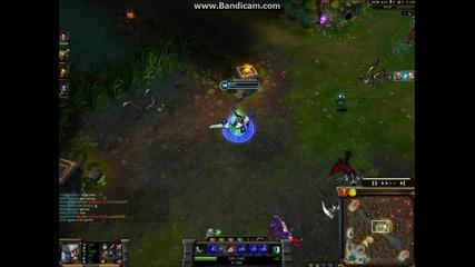 League of Legends- Tryndamere Quadra Kill