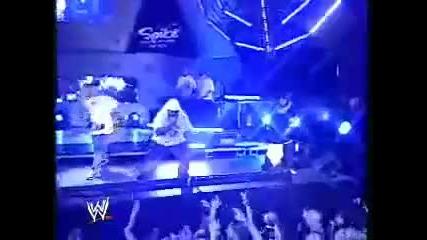 John cena-bad bad man live la raw