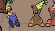 Teddys birthday party mr bean