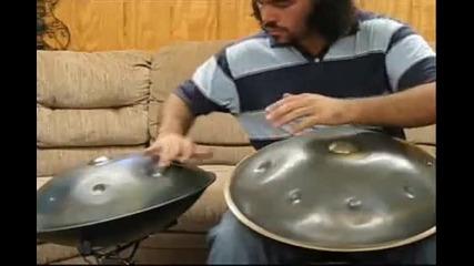 Страхотен Майстор На Hang Drum!