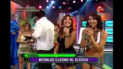 07.04.2010 Reality Show In Chile Yingo с участието на Evailo - Част 2
