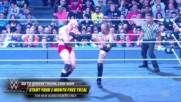 Aleister Black drops the massive Lars Sullivan with Black Mass: NXT TakeOver: Chicago II (WWE Network Exclusive)