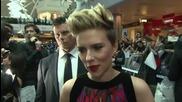 Avengers Age of Ultron European Premiere: Scarlett Johansson