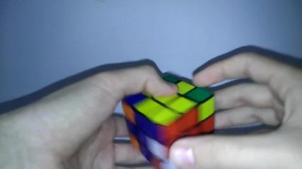 *bg* Нареждане на кубчето на Рубик 3x3x3 (за начинаещи) част 2