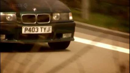 E36 M3, 190 Е Cosworth и Sierra Rs Cosworth - Top Gear - Част 1