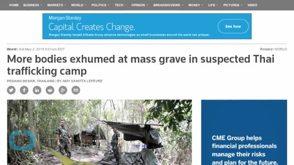 More Bodies Exhumed at Mass Grave in Suspected Thai Trafficking Camp