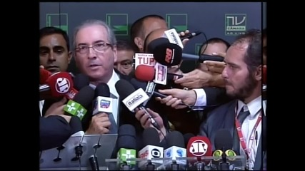 Brazil: Congress Pres. Cunha says impeachment to be brought to Senate tomorrow