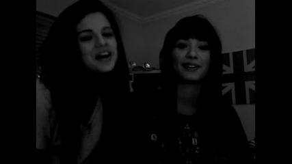 demi Lovato and Selena Gomez shout outs!!