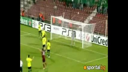 Шампионска Лига - Клуж - Базел 2:1