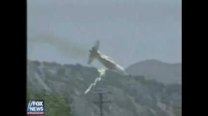 Самолет Катастрофира При Гасене На Пожар