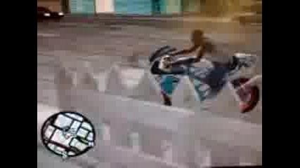 Moto Burnout GTA SA