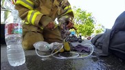 Пожарникар спасил коте, трогна света.